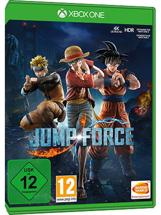 Jump Force - Xbox One Download Code Screenshot