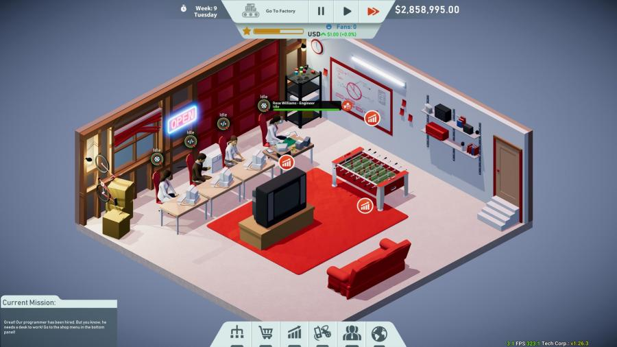 Tech Corp Screenshot 2